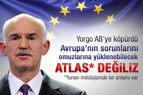 Yunanistan Başbakan'ı AB'ye köpürdü