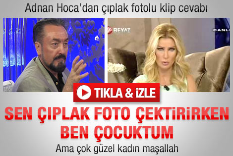 Adnan Oktar'dan Seda Sayan'a çıplak foto cevabı
