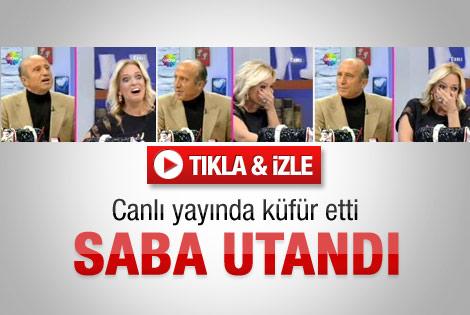 Yaşar Hoca'nın küfrü Saba Tümer'i utandırdı - İzle