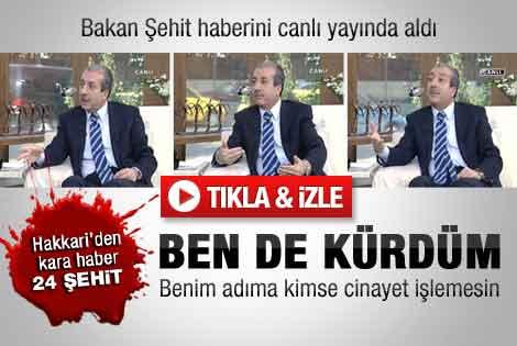 Mehdi Eker şehit haberini canlı yayında aldı - İzle