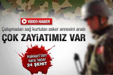 Hain saldırıdan sağ kurtulan asker o anı anlattı - izle