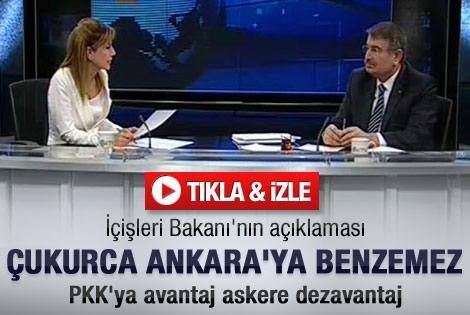 Şahin: Çukurca Ankara'ya benzemez
