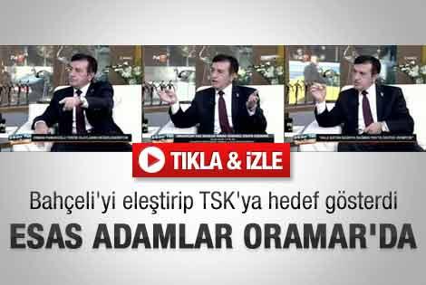 Pamukoğlu Bahçeli'yi eleştirip TSK'ya hedef gösterdi