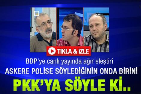 Ahmet Kekeç'ten BDP'ye ağır eleştiri -  İzle
