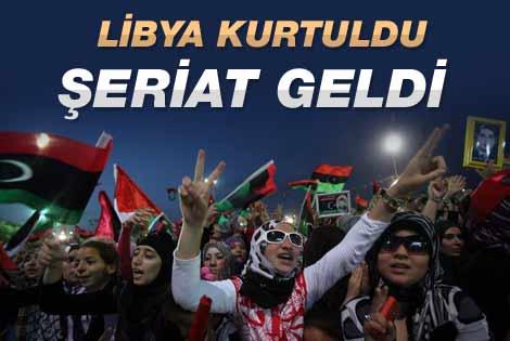 Libya yönetimde şeriatı esas alacak
