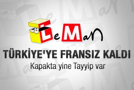 Leman'ın kapağında depreme rağmen Erdoğan var