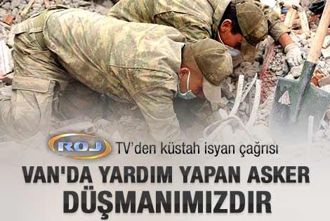 Deprem PKK'nın propaganda aracı haline döndü