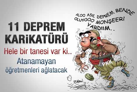 Karikatülerde gündem Van depremi - Galeri