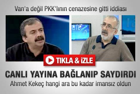 BDP'li Sırrı Süreyya eleştirilere sert tepki verdi - izle