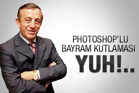 Ali Ağaoğlu'ndan photoshoplu 29 Ekim kutlaması