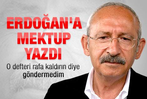 Kılıçdaroğlu'ndan Başbakan'a yolsuzluk mektubu
