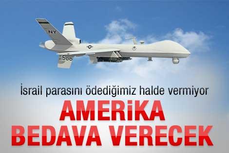Amerika Predatorler'i Türkiye'ye bedelsiz verecek