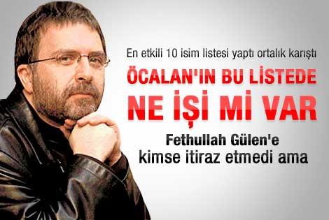 Ahmet Hakan: Öcalan'ı neden mi listeye aldım