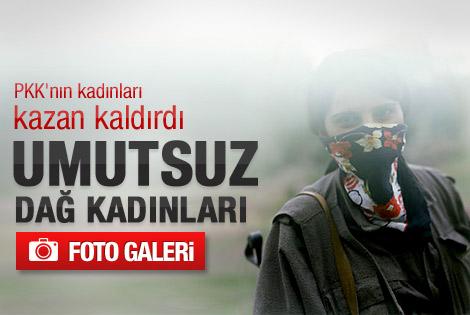 PKK'nın kadınları isyanda: Umutsuz dağ kadınları