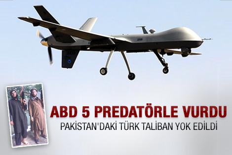 ABD 18 Türk Talibanı öldürdü
