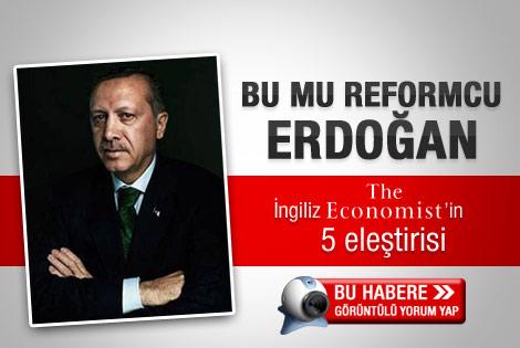 The Economist'in Erdoğan'a 5 eleştirisi