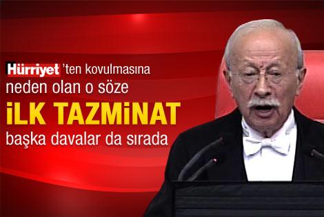 Oktay Ekşi AK Parti'li Elitaş'a tazminat ödeyecek
