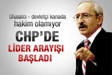Gönensin: CHP'de lider arayışı başladı