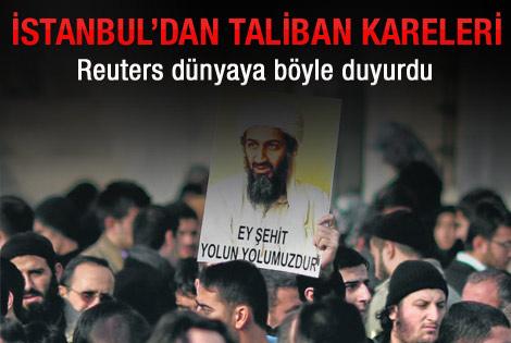 İstanbul'dan Taliban fotoğrafları
