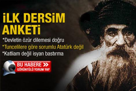 Türkiye Dersim'den özür dileyecek