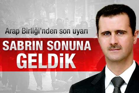 Esad için kritik gün