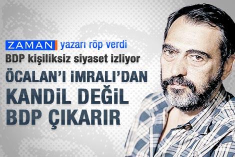 Mahçupyan: Öcalan'ı İmralı'dan Kandil değil BDP çıkarır