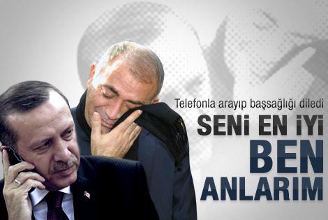 Erdoğan'dan Gürsel Tekin'e başsağlığı telefonu