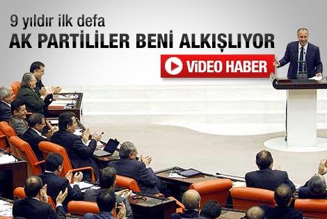 AK Parti'den CHP'li Muharrem İnce'ye alkış