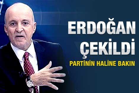 Birand: Erdoğan çekildi partinin haline bakın