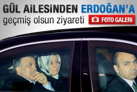 Cumhurbaşkanı Gül Erdoğan'ı ziyaret etti