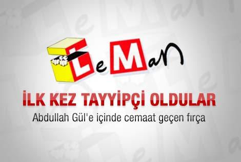 Leman'dan Erdoğan ve Gül'ü kızdıracak karikatür