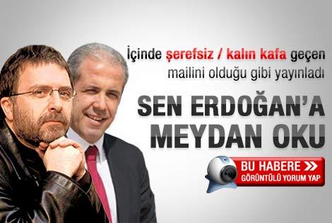 Tayyar'dan Ahmet Hakan'a mail: Bak Ahmet!