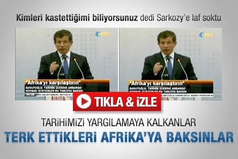 Sarkozy'e fena laf soktu - izle
