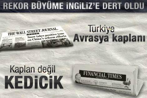 FT ve WSJ'nin Türkiye'nin büyüme oranı kavgası