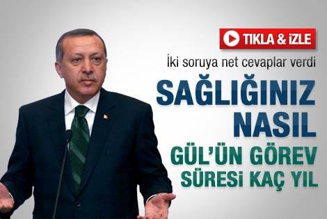 Erdoğan sağlık durumu ile ilgili açıklama yaptı