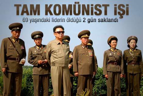 Kuzey Kore'nin lideri Kim Jong-il öldü