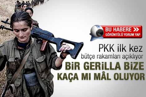 Kandil'in 1 numarası açıkladı: 1 PKK'lının maliyeti..
