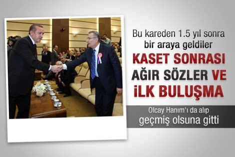 Baykal eşiyle Erdoğan'ı ziyaret etti