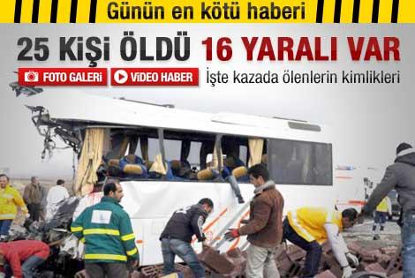 İşte Diyarbakır'daki kazada ölenlerin isimleri