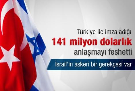 İsrail Türkiye ile olan savunma anlaşmasını feshetti