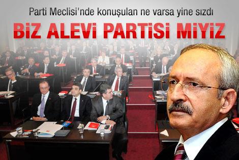 CHP'de biz Alevi partisi miyiz kavgası