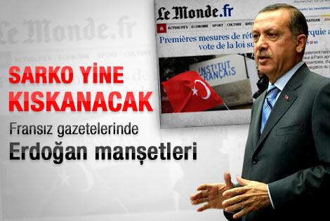 Başbakan Erdoğan'ın sözleri Fransız basınında