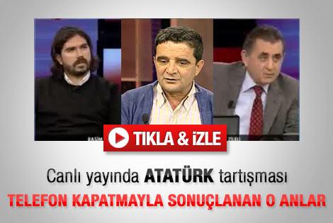 Canlı yayında Atatürk kavgası - İzle
