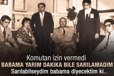 Aydın Menderes fotoğraftaki o anları anlattı