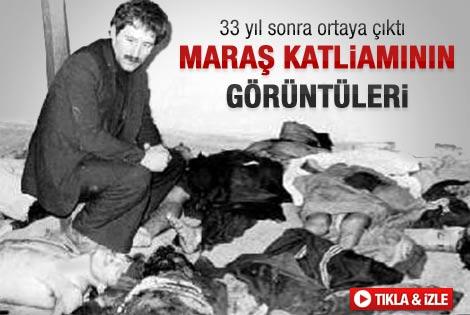 Maraş katliamın hiç yayınlanmamış videosu