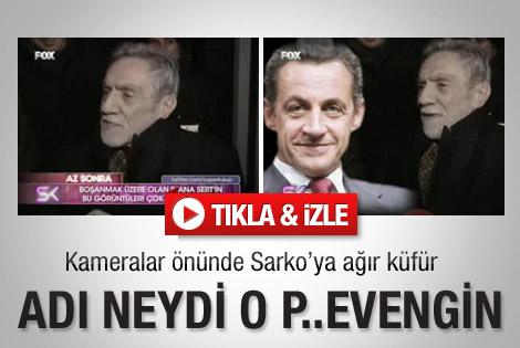 Aydemir Akbaş'tan Sarkozy'ye ağır küfür - İzle