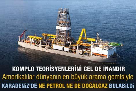 TPAO Karadeniz'deki sondaj çalışmasını bitirdi