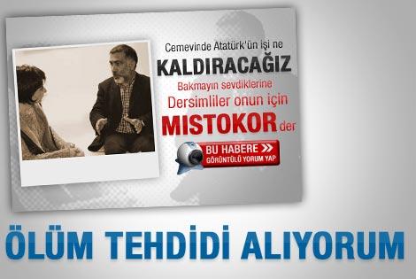 Atatürk resmi ölüm tehdidi getirdi