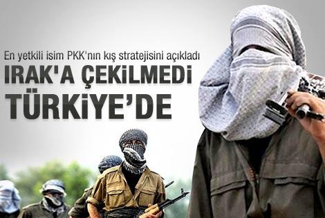 Bakan Yılmaz: PKK kış için Irak'a çekilmedi
