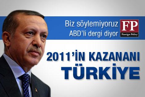 Foreign Policy: 2011 yılının kazananı Türkiye